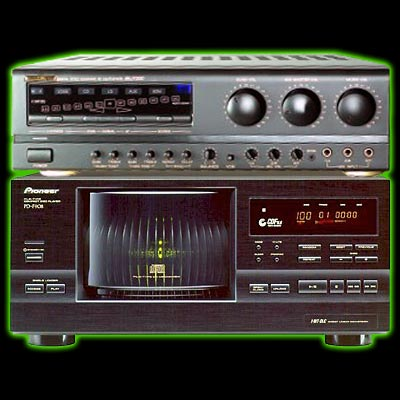 Pioneer high quality system for 101 CD+G