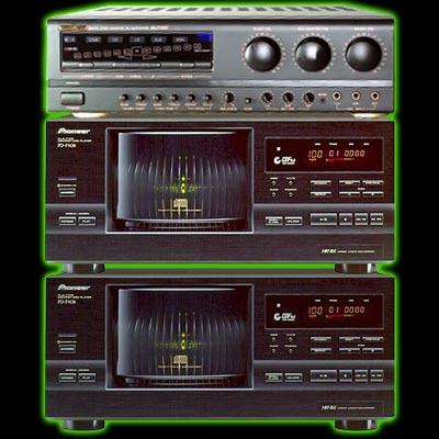Système de qualité professionnel Pioneer pour 202 CD+G
