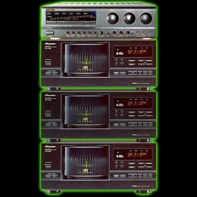 Système karaoké professionnel pour 300 CD+G