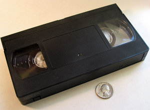 Cassette vidéo VHS de karaoké en français
