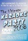 The Ultimate Karaoke Party 2008 - 2 DVD Albums Kit