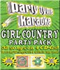 Girl Country Party Pack - 4 Albums Kit