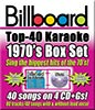 Billboard 1970's Top 40 Box Set - 4 Albums Kit