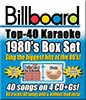 Picture of Billboard 1980's Top 40 Box Set - 4 Albums Kit