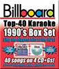 Agrandir l'image pour Billboard 1990's Top 40 Box Set - 4 Albums Kit