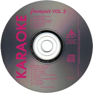 Karaoké Kébek CD+G - Volume 2