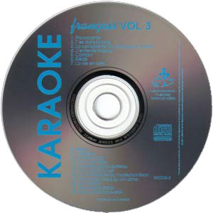 Karaoké Kébek CD+G - Volume 3