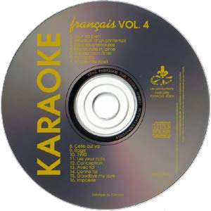Karaoké Kébek CD+G - Volume 4