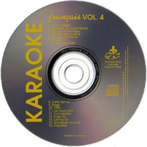 Karaoké Kébek CD+G - Volume 4